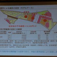 亀岡駅北土地区画整理組合 換地説明会 スライド画像 (2014.11.01)